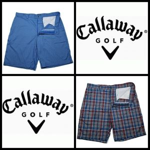 2 Callaway Golf Shorts, size 36, preowned but in l